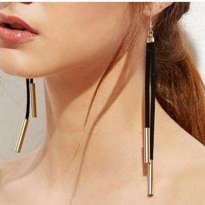 *Callie** Suede Cord Earrings